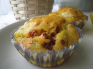Muffin Salato ai Pomodori Secchi