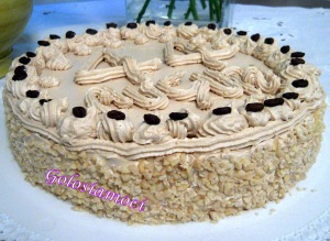 Coffee Birthday Cake
