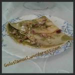Crepes con crema di pistacchi di bronte e granella
